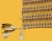 Lloyd-loom, pitriet, rotan, 3504, mix van Lloyd-loom, outdoor, artificial loom, kunststof pitriet